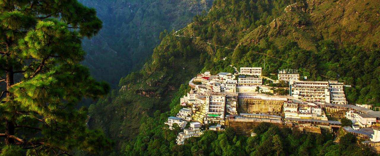 Holy shrine of Mata Vais...